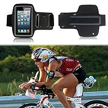 buy Waterproof Sport Gym Running Armband Case Cover Bag For Smart Mobile Phones (Lg G Pro Lite D680 D682 / Dual D686 , Black )