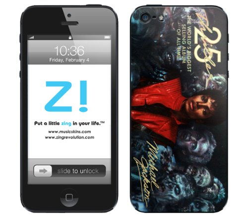 MusicSkins iPhone5用スキンシール Michael Jackson - Thriller 25