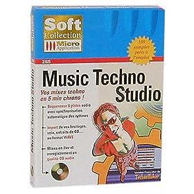 Music techno studio