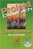 echange, troc Robert Jourdan, Claudine Decocqman, Susanne Trabaud - Projekt Deutsch : Cahier d'activité Allemand, terminale (Inclus 1 CD audio)