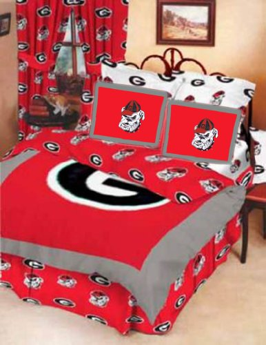 Georgia Bed-in-a-Bag with Reversible Comforter - Georgia Bulldogs