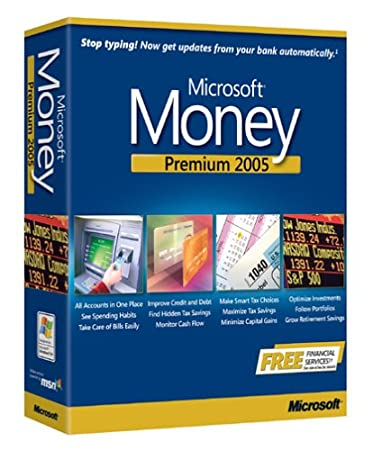 Microsoft Money Premium 2005 [OLD VERSION]