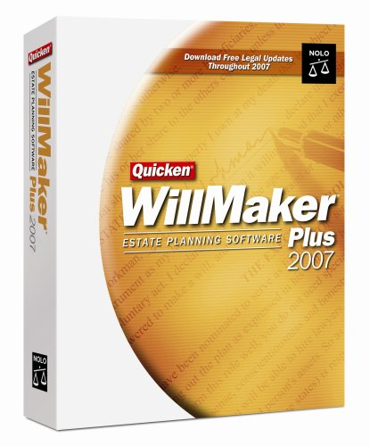 Quicken Willmaker Plus 2007 [OLD VERSION]