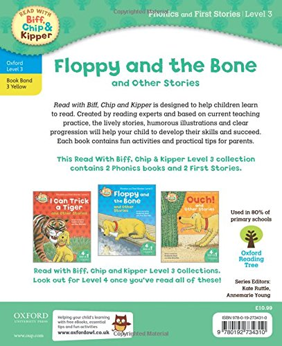 Oxford Reading Tree Read With Biff, Chip, and Kipper: Floppy and the Bone and Other Stories (Level 3) (Read With Biff Chip & Kipper)