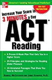 img - for Increase Your Score In 3 Minutes A Day: ACT Reading book / textbook / text book