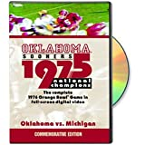 Cover art for  1975 Oklahoma National Championship Game: Oklahoma vs. Michigan