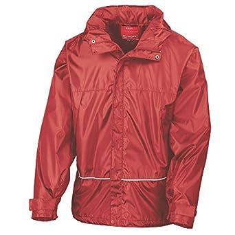 Kids reversible stormstuff jacket red/navy age 2-3