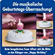 Weco Geburtstagsfont�ne 'Happy Birthday'