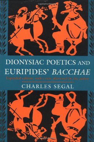Dionysiac Poetics and Euripides'