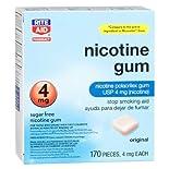 Rite Aid Nicotine Polacrilex Gum, 4mg, Original, 170 ct.