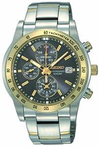 Seiko Men's SNDE02 Chronograph Watch