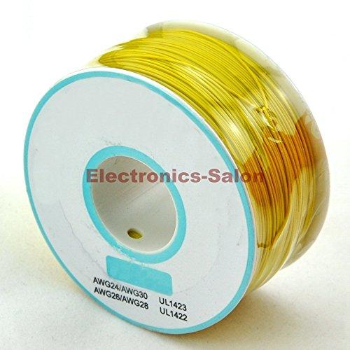 electronica-salon-un-rollo-amarillo-30awg-envoltura-de-alambre-cable-cobre-estanado-solido-aislamien