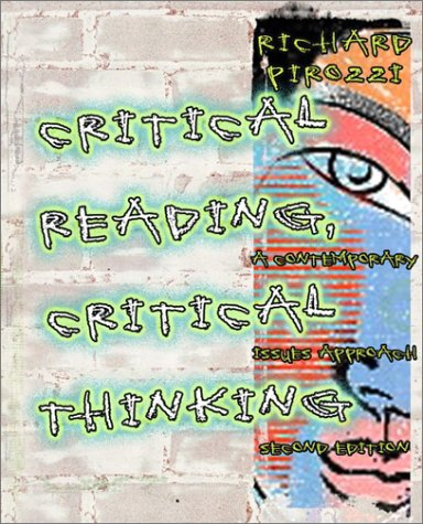 critical reading critical thinking pirozzi