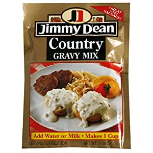 Jimmy Dean Country Gravy, 1.25-Ounce Packages (Pack of 24)