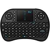 Mini 2.4GHz Wireless Entertainment Keyboard with Touchpad for PC, Pad, Andriod TV Box, Google TV Box, Xbox360, PS3 & HTPC/IPTV (Black and White)