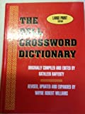 img - for The Dell Crossword Dictionary by Wayne Robert Williams Kathleen Rafferty (1995-05-03) book / textbook / text book