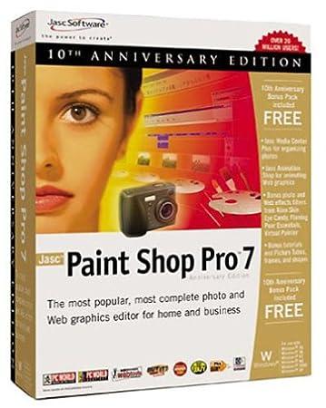 Paint Shop Pro 7, édition anniversaire