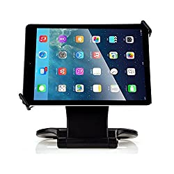 360 DEGREE SWIVEL TABLETOP STAND FOR IPAD SAMSUNG TABLETS WITH COLLAPSIBLE BASE: FITS ALL TABLETS FROM 7 TO 11 INCH