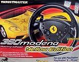 echange, troc 360 Modena Racing Wheel jaune