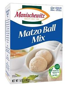 MANISCHEWITZ Matzo Ball Mix, 5-Ounce Boxes (Pack of 8)