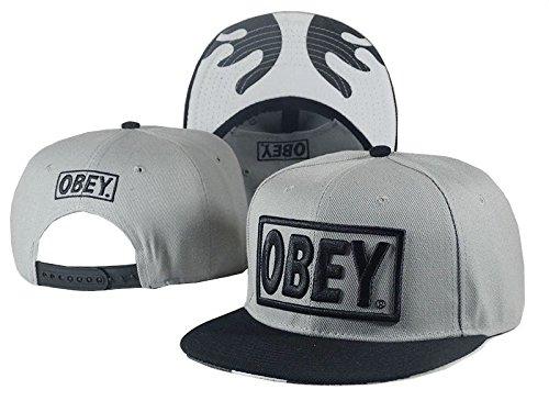 BunnyPPMY Unisex New Fashion Adjustable Baseball OBEYSnapback Cap