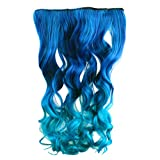 "AGPtek 26"" Enstyle Supreme Neon Tangle Curly 100% Human Color Hair Extension Ponytail-3Color"