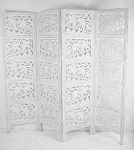 wooden elephant screen room divider kitchen home