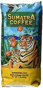 Magnum Sumatra Mandheling Coffee, Whole Bean, 1 lb
