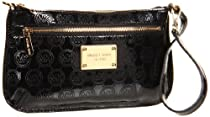 Hot Sale MICHAEL Michael Kors MONOGRAM Wallet,Black,One Size
