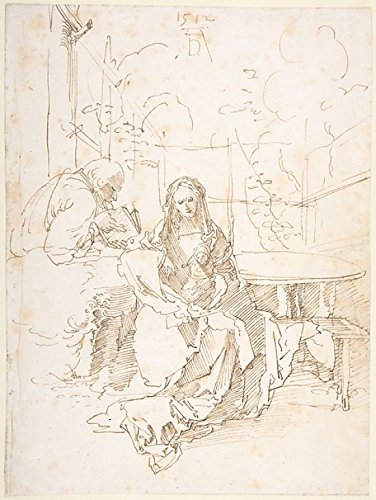 The Holy Family In An Enclosed Garden Poster Print By Albrecht Dürer (18 X 24)