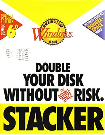 Stacker 3.1 for Windows & DOS Special Edition [3.5