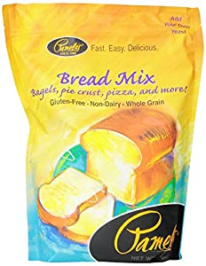 Pamela's Products Amazing Wheat Free & Gluten-free Bread Mix,  4-Pound Bags (Pack of 3)