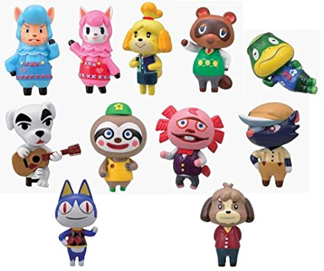 Furuta Choco Egg Party Animal Crossing Figure~Complete set of 11