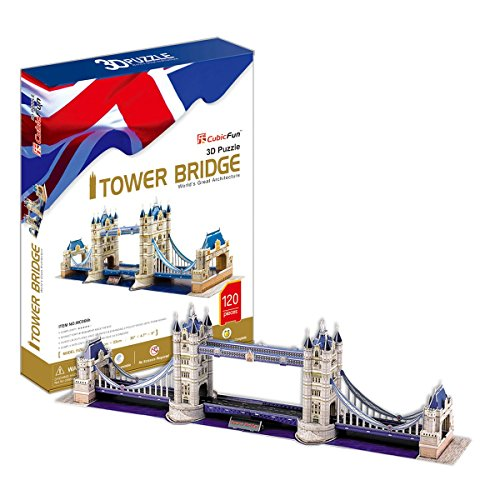 Cubic Fun MC066H - 3D Puzzle Tower Bridge Londra U.K.