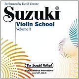 Suzuki Violin School, Volume 3 (CD)