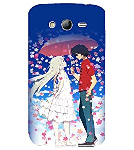 printtech Anime Love Couple Back Case Cover for Samsung Galaxy Grand Neo / Samsung Galaxy Grand Neo i9060