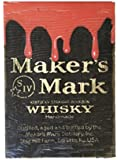 Maker's Mark Wooden Black Pub Sign
