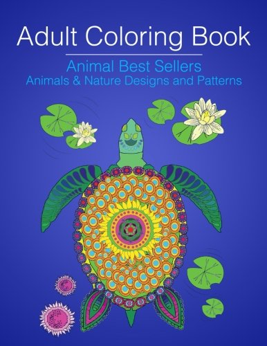 Adult Coloring Book Animal Best Sellers Animals Amp Nature