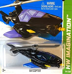 Mattel 2013 Hot Wheels Hw Imagination Batcopter
