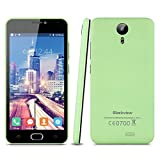 Blackview BV2000S - 5.0'' Smartphone Movil Libre Android 3G (Ips Hd 1280x720P, Quad Core, 8Gb, Dual Sim, 1Gb Ram, Multi-Idioma, Camara 5Mp), Verde