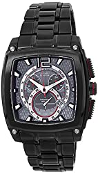 Citizen Eco-Drive Analog Black Dial Mens Watch - AT0749-54E