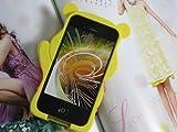 Pooh Bear Carton Figure 3D Cute Case for iPhone 4/4S