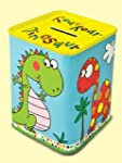 rachel ellen tin money box dinosaur