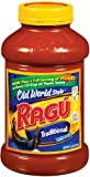 Ragu Pasta Sauce, Old World Style, Traditional, 45-Ounce Bottles (Pack of 4)