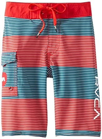 RVCA Big Boys' Civil Stripe, Midnight, 24