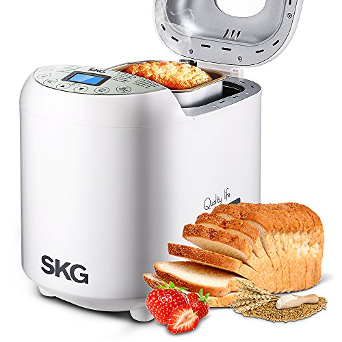 Review SKG Intelligent Multi-Functional Automatic 2-LB Bread Maker