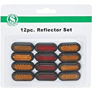 Reflectors - Smart Savers-12PC ADHESIVE REFLECTORS
