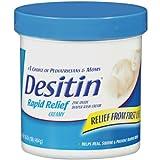 Desitin Rapid Relief Creamy Jar, 16-Ounce