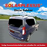 Autosonnenschutz DACIA DOKKER 2x Schiebetür Solarplexius Bj.2013 28555-6