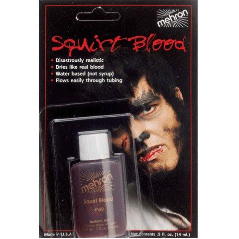 Mehron Squirt Blood, 0.5 oz, Dark - 1